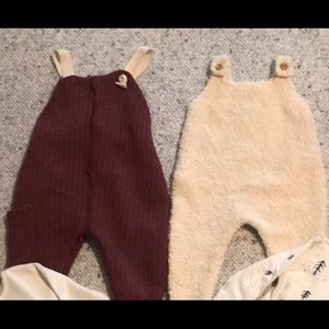 2 Zara Mini Collection Outfits 3-6 months